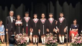 滬江小學_第二十八屆畢業典禮 - 頒發畢業證書6B