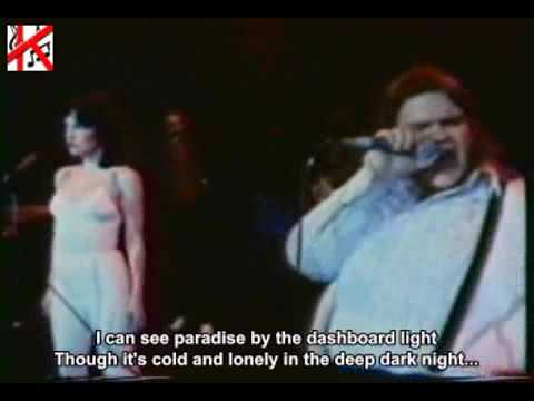 Meat Loaf – Paradise by the Dashboard Light Lyrics ...