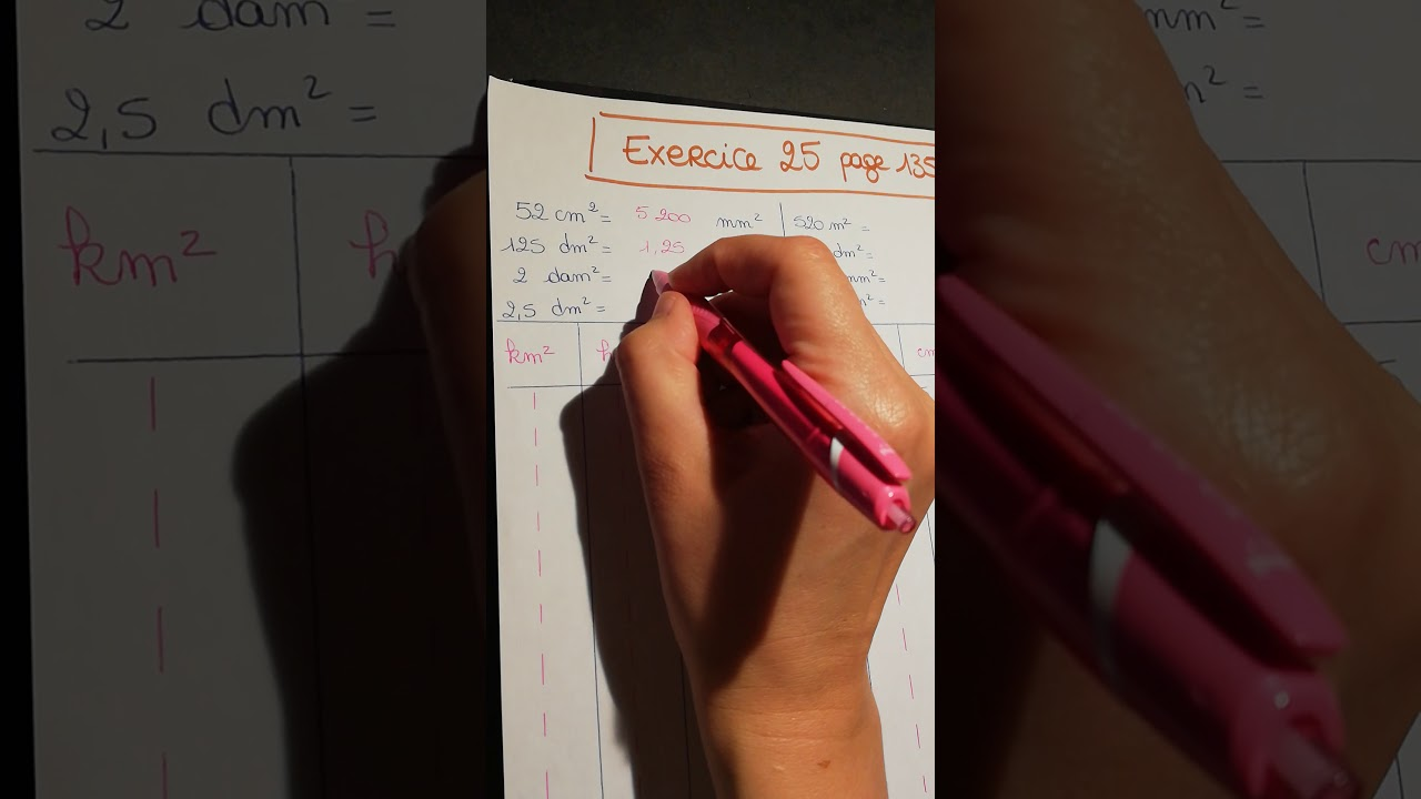 6e. Correction de l'exercice 25 page 135 - YouTube