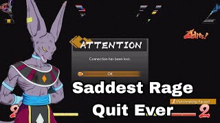Video The Best Ragequit In Dragon Ball Fighter Z Open Beta download MP3, 3GP, MP4, WEBM, AVI, FLV Januari 2018
