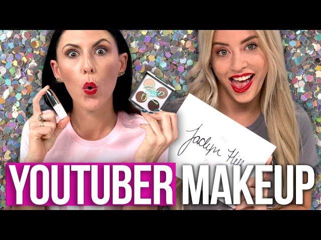 Trying YouTuber Makeup Products – PatrickStarrr, Zoella, Jaclyn Hill & More! (Beauty Break)