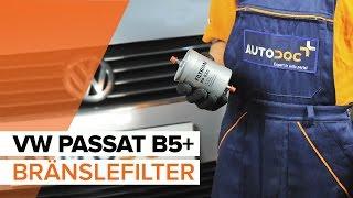 Demontering Bränslefilter diesel och bensin gratis instruktioner
