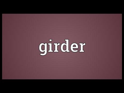 Girder Meaning