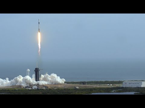 Elon Musk Says He's `Fired Up' as SpaceX Steps Toward Crewed Flights - Bloomberg Markets and Finance