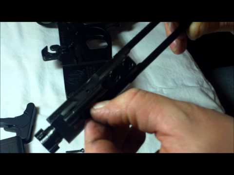 Smith and Wesson, M&P 15- Breakdown
