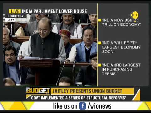 India Budget 2018: Finance Minister Arun Jaitley's full spee