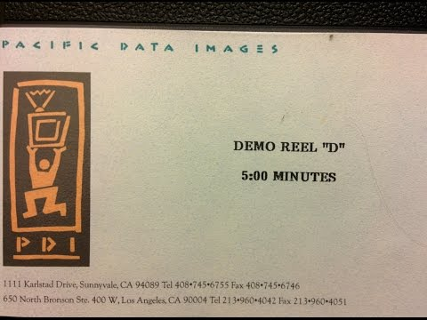 1996 Pacific Data Images PDI Demo D