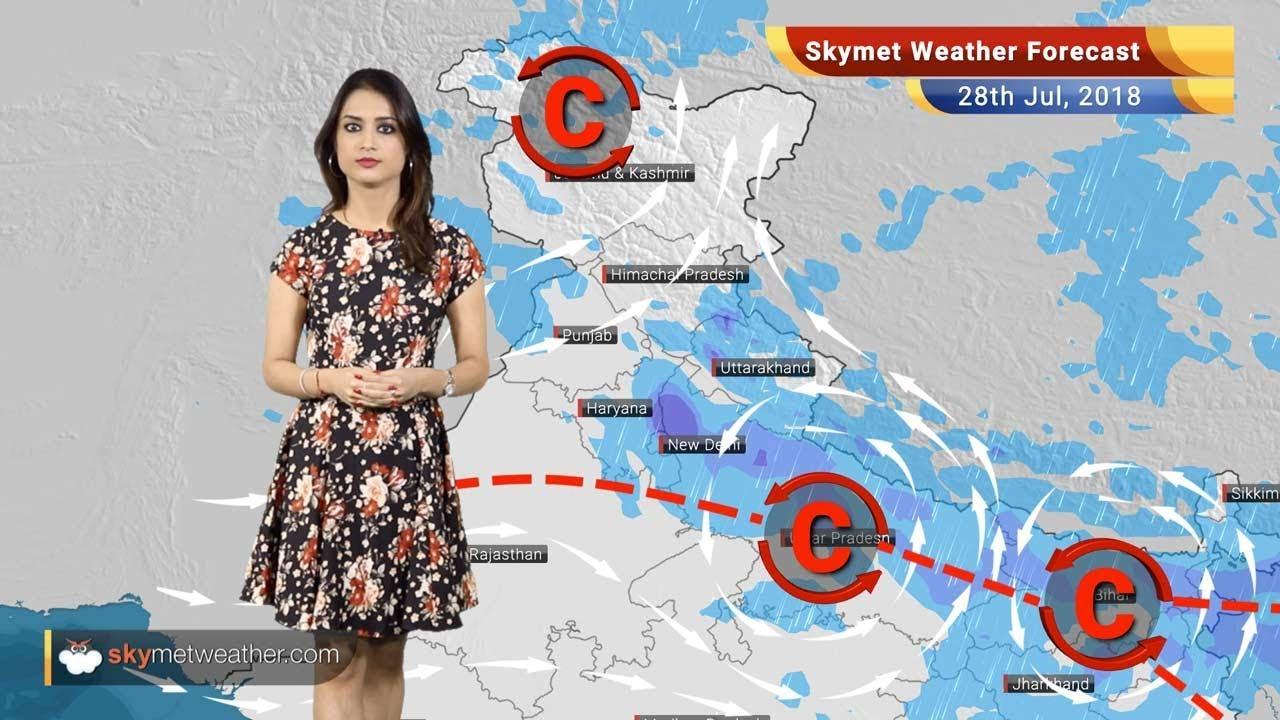 Weather Forecast for July 28: Rain in Delhi, Haryana, Uttarakhand, MP