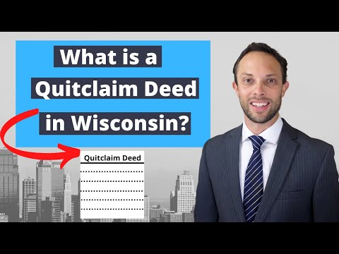 What is a Wisconsin Quit Claim Deed