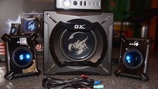 UNBOXING : Repráky GX Gaming SW2.1 2000