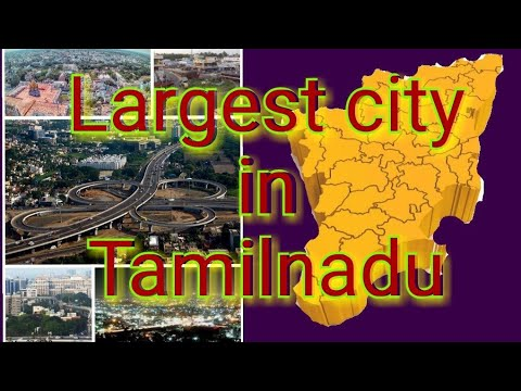Largest city in Tamilnadu
