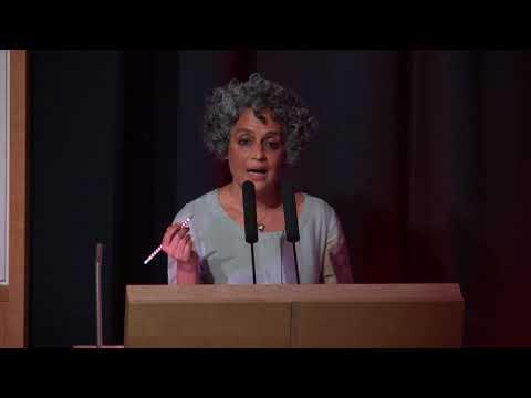 Sebald Lecture 2018: Arundhati Roy