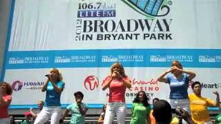 Broadway in Bryant Park 2012 Mamma Mia