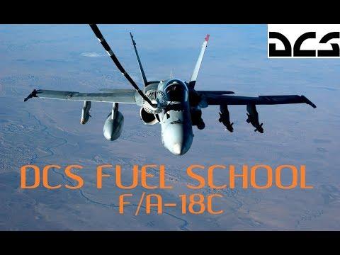 DCS Fuel School | Complete AAR Tutorial |  Episode 1 - F/A-18C