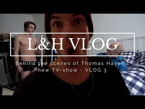 Behind the scenes of Thomas Hayes's new TV-show - VLOG 3