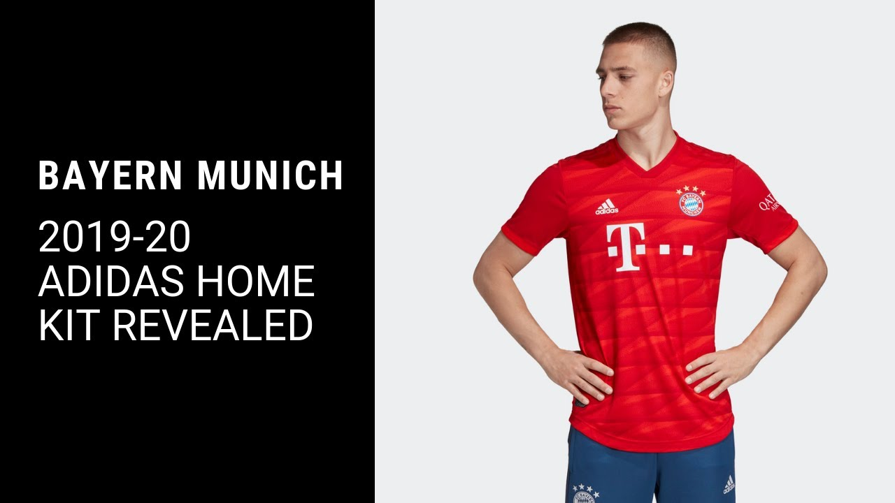 detailed look 21909 8d13a Bayern Munich 19/20 Home Kit Revealed