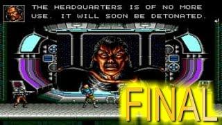 Contra Hard Corps / Me Atraparon / Final / Sega Genesis