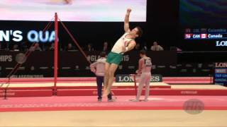 de LUNA Fabian (MEX) - 2015 Artistic Worlds - Qualifications Floor Exercise