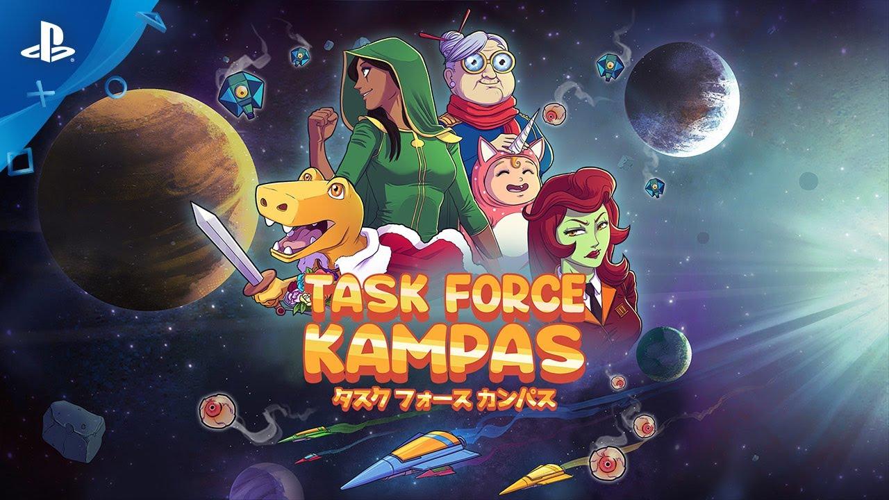 Task Force Kampas - Launch Trailer   PS4