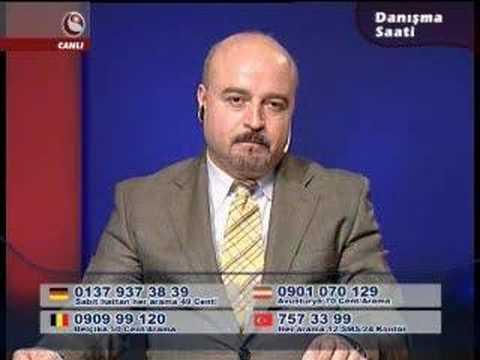 Serif ISSI - Turkshow, Danisma Saati . Sabirli Sunucu