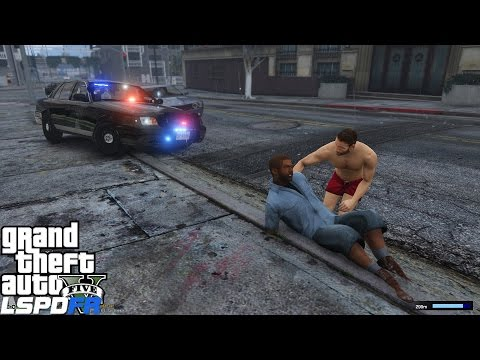 GTA 5 LSPDFR Police Mod 209 | New Jersey State Police | Stealth Car | Life Guard Saves The Day