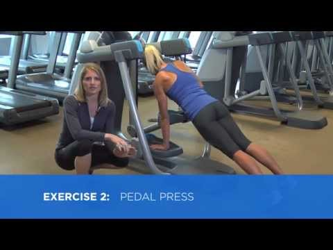 Precor AMT Upper Body Strength And Core Training