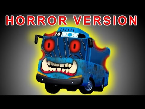 Tayo The Little Bus Drawing As HORROR VERSION 😲😲😲