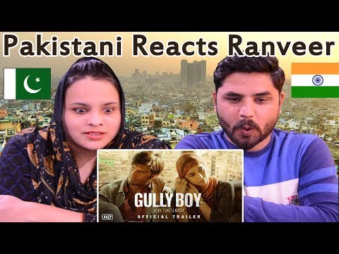 Pakistani Reacts To | Gully Boy | Official Trailer | Ranveer Singh | Alia Bhatt | Zoya Akhtar