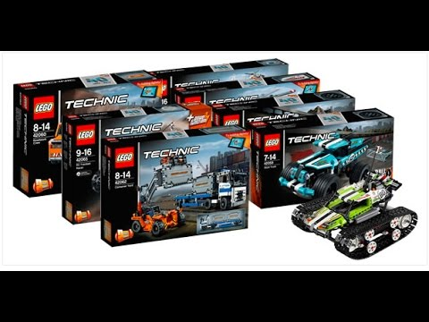 new lego 2017 technic sets youtube. Black Bedroom Furniture Sets. Home Design Ideas