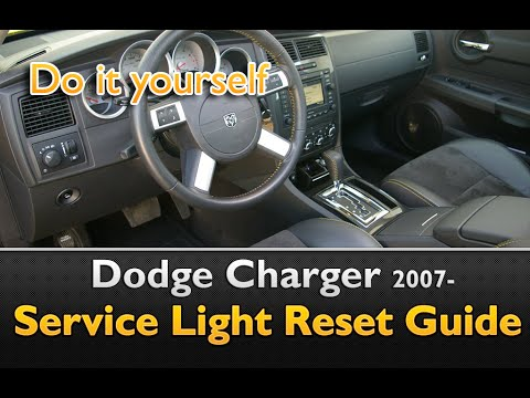 Dodge Charger 2007- Service Indicator Reset Guide