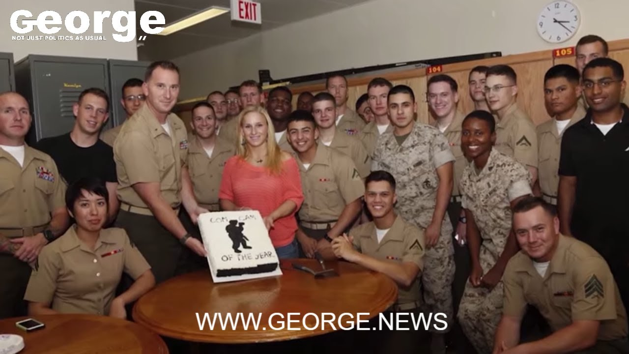 The story of Lance Cpl Jacob Hug and Cpl Sara Medina