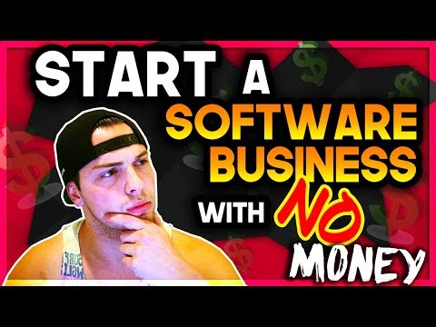 How I Started A Software Business With $0 & NO Experience