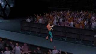 "SVR 2010 Eddie Guerrero Entrance (With ""Gangsta Lane"" Theme)"