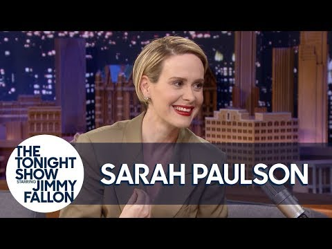 Sarah Paulson Freaked Out When Cher Touched Her at the Met Gala