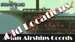 STARBOUND : 3 Avian Airship Coordinates (OLD)