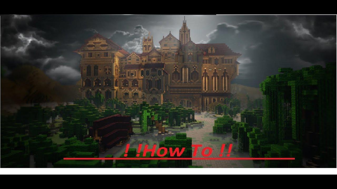 minecraft hypixel herobrines mansion 2