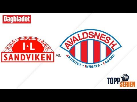 Sandviken - Avaldsnes. Toppserien 2017, 11. runde