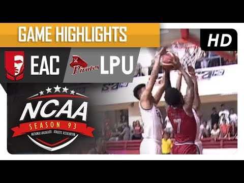 Generals vs. Pirates | NCAA 93 | MB Game Highlights | August 10, 2017