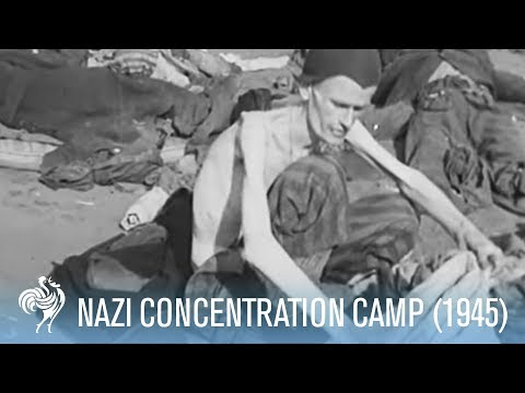 Holocaust Buchenwald Concentration Camp Uncovered (1945) | British Pathé