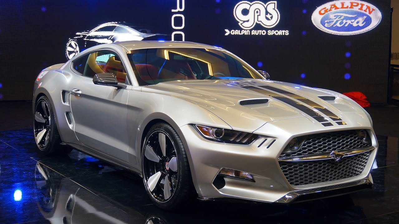 Fisker galpin auto sports 2015 mustang rocket los angeles auto show youtube