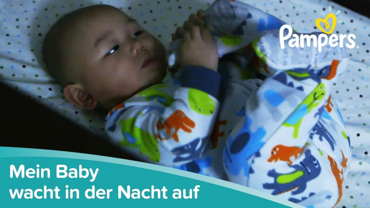 Mein Baby wacht in der Nacht auf   Pampers - YouTube