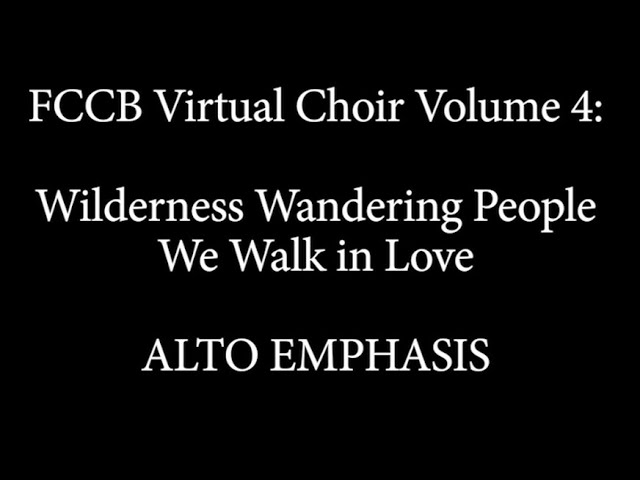 Virtual Choir 4 Singalong alto