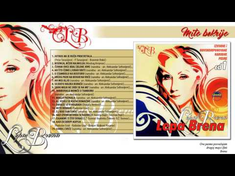 Lepa Brena - Mito bekrijo - (Official Audio 2013)