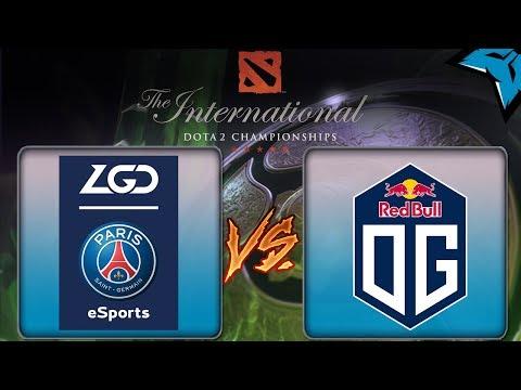 [PT-BR] PSG.LGD vs OG - Dota 2 The International 8 #ti8 #final