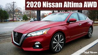2020 Nissan Altima AWD Review - The AWD Alternative