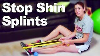 Shin Splints Strengthening Exercises & Stretches - Ask Doctor Jo