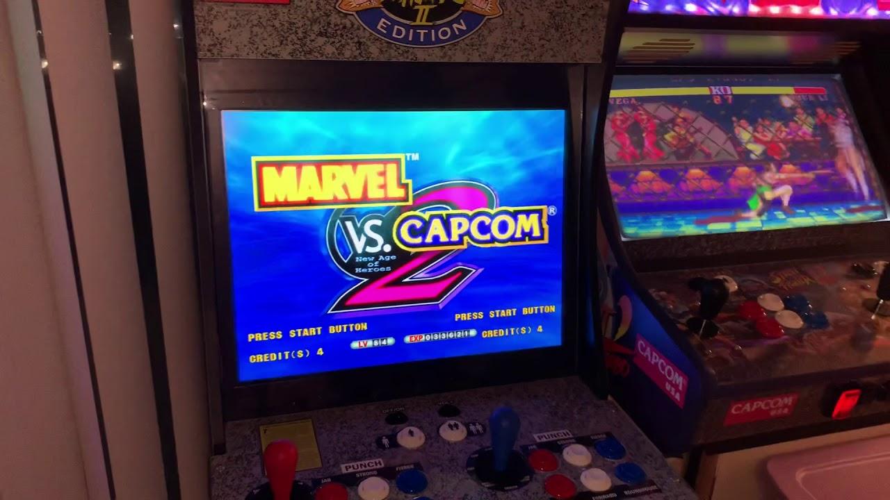 Marvel vs capcom 2 rom mame