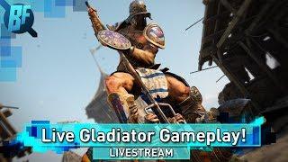 For Honor Season 3: Live Gladiator and Highlander Gameplay