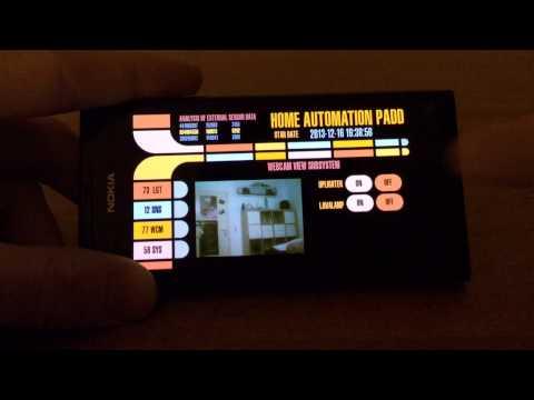 Evolution of the Homebrew Star Trek LCARS Interface for