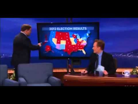 Conan's Election Results is listed (or ranked) 9 on the list The Very Best Viral Conan Clips of 2012